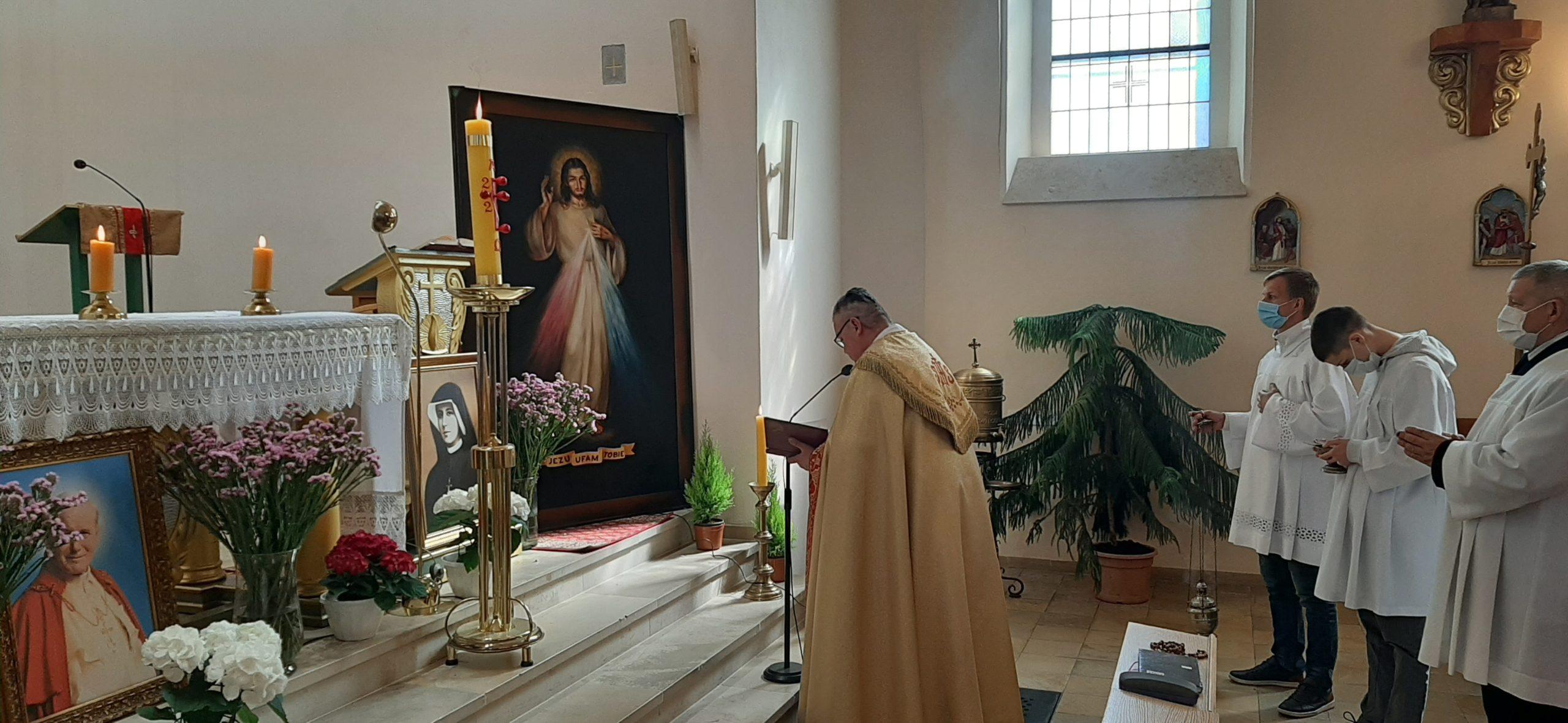 Jezus Miłosierny zamieszkał w Węglińcu (+galeria, + film)