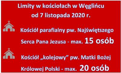 Limity w kościołach w Węglińcu