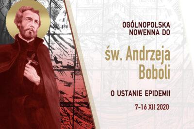 Nowenna do św. Andrzeja Boboli w czasie epidemii